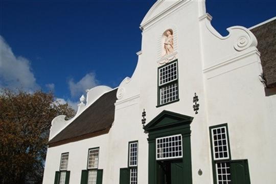 Photo d'une église en Afrique du Sud