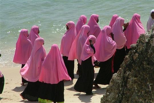 Photo de femmes de Zanzibar